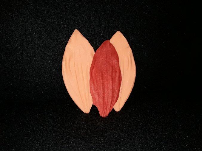 Silikonová formička okvětní list jiřina 4058