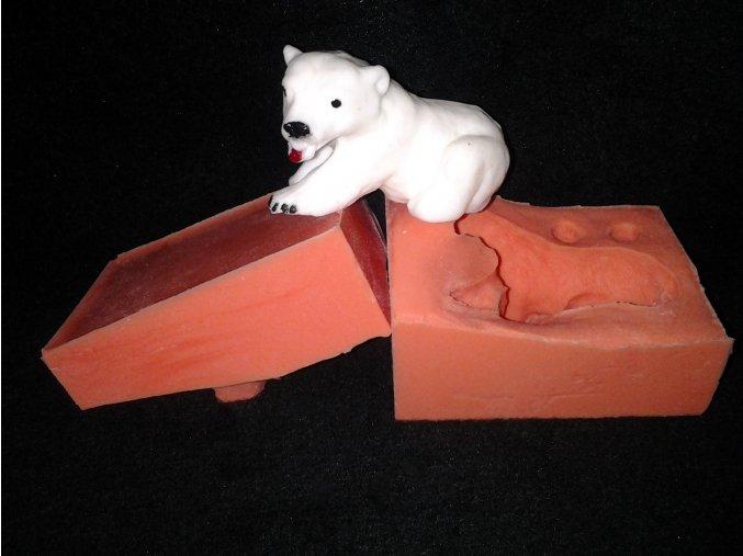 Silikonová formička lední medvěd 3034