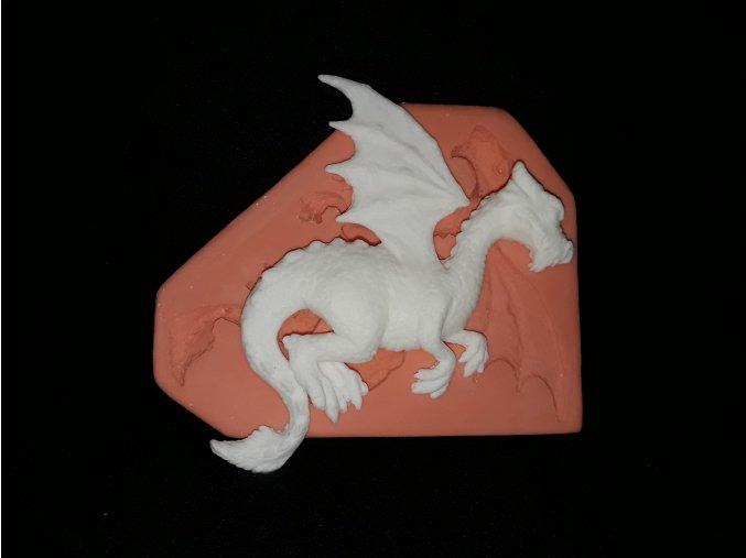 Silikonová formička drak velký 2146
