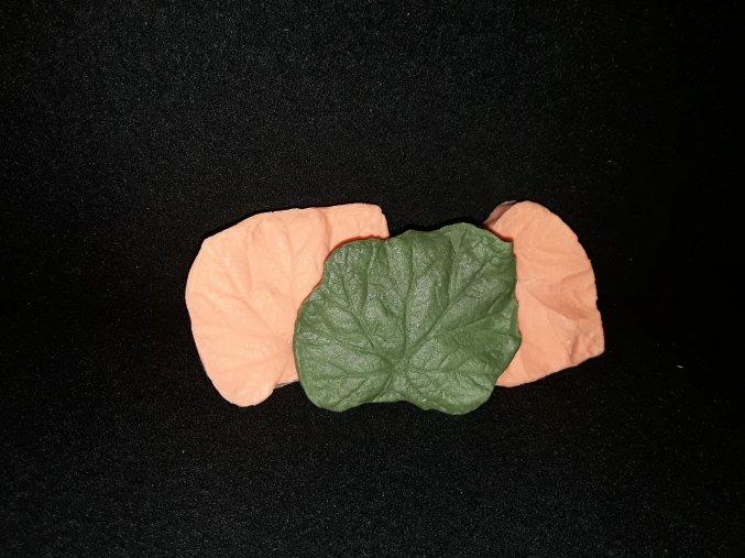 Silikonová formička žilkovač begonie 4064