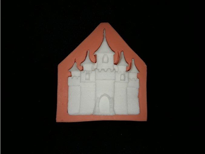 Silikonová formička hrad 5159