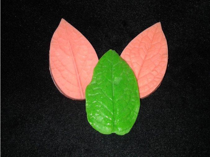 Silikonová formička žilkovač  listu 4006