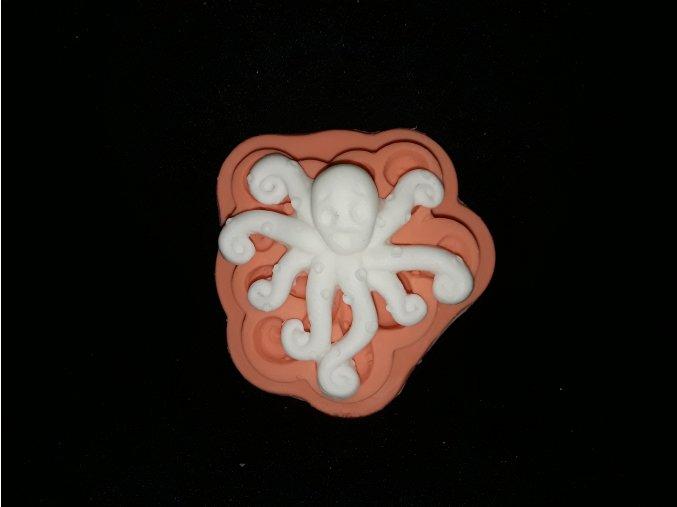 Silikonová formička chobotnička 2165