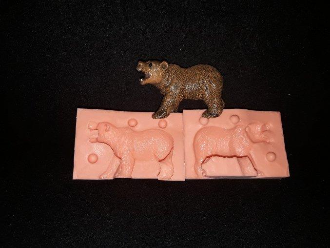 Silikonová formička medvěd 3194