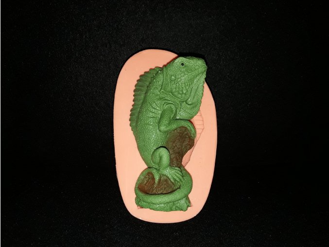Silikonová formička chameleon 3207