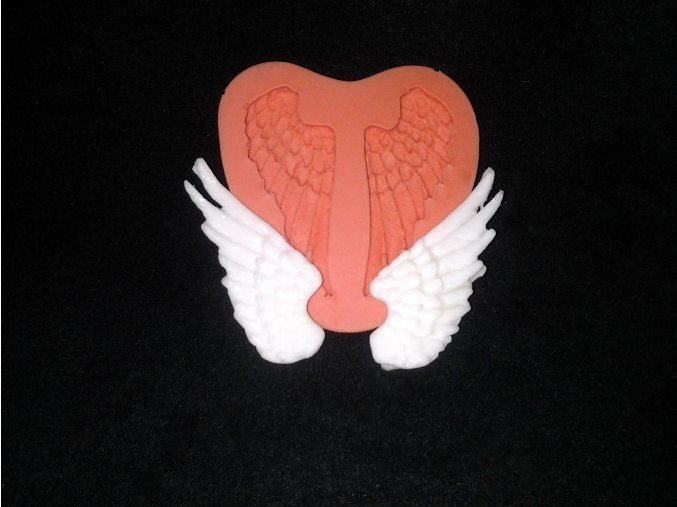 Silikonová formička menší křídla 5012