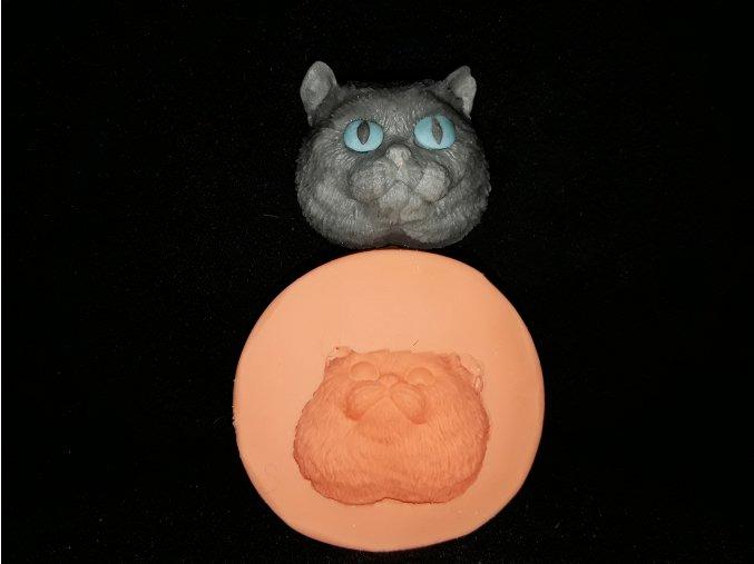 Silikonová formička kočičí hlava 2170