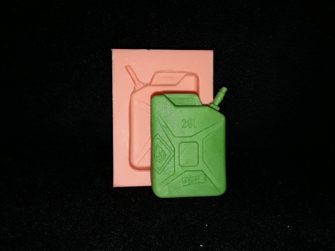 Silikonová formička kanystr 5181