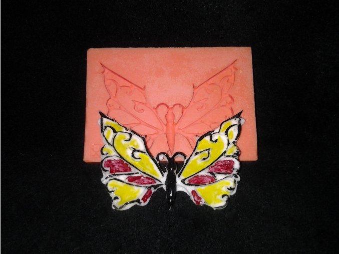 Silikonová formička motýl 5021