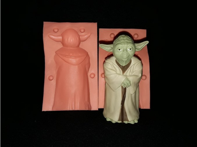 Silikonoví formička Yoda 3228