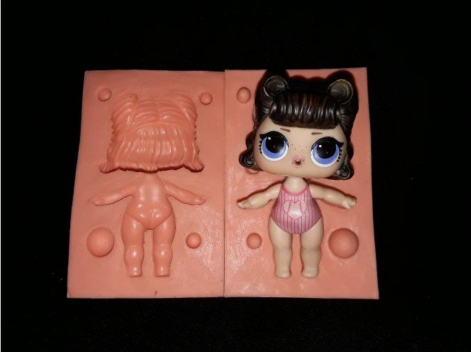 Silikonová formička panenka Lol 3229