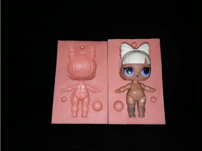Silikonová formička panenka Lol 3231