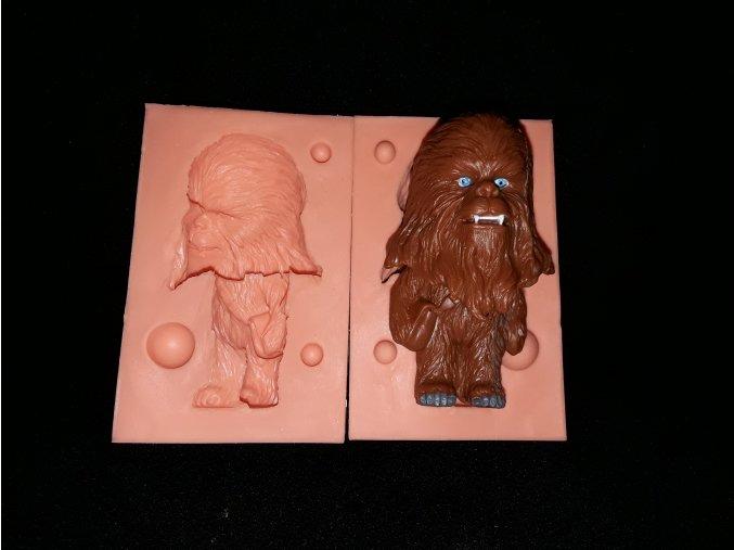 Silikonová formička Star Wars /Chewbacca/ 3235