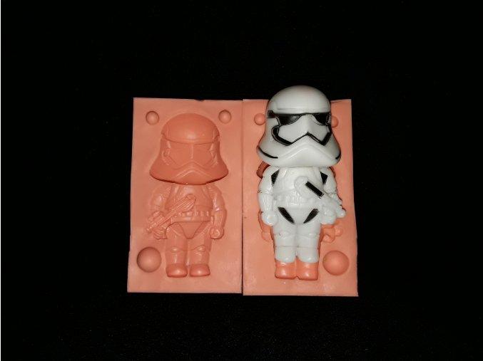 Silikonová formička Star Wars /Skywalker/ 3234