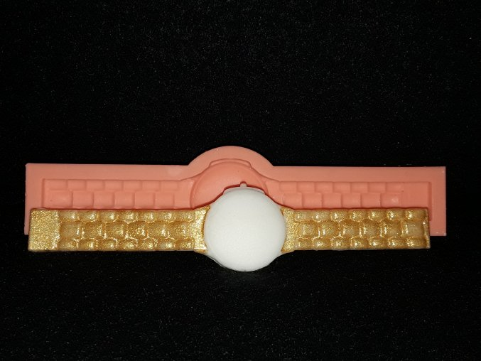 Silikonová formička náramkové hodinky 5192