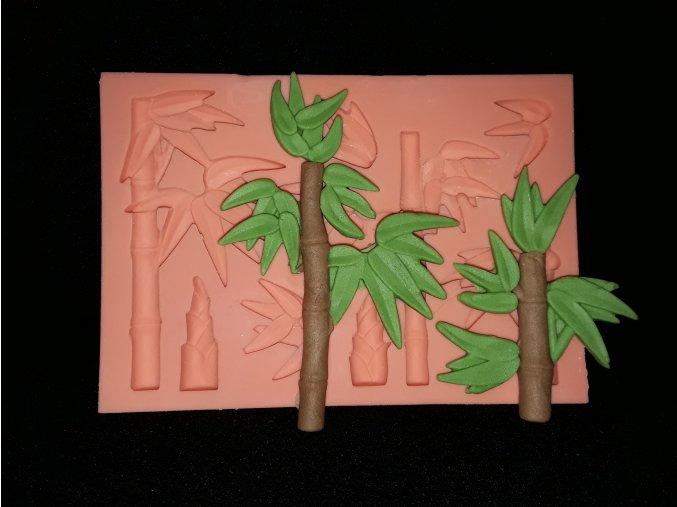 Silikonová formička palmy 4076