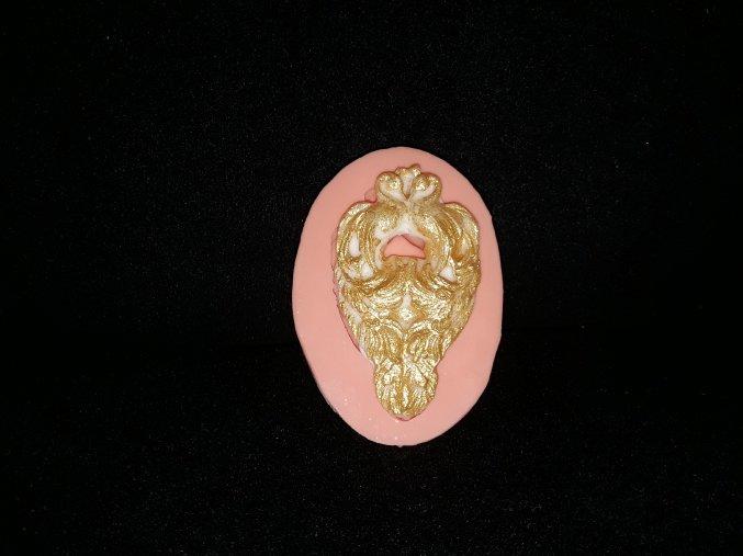 Silikonová formička ornament pávi 1053