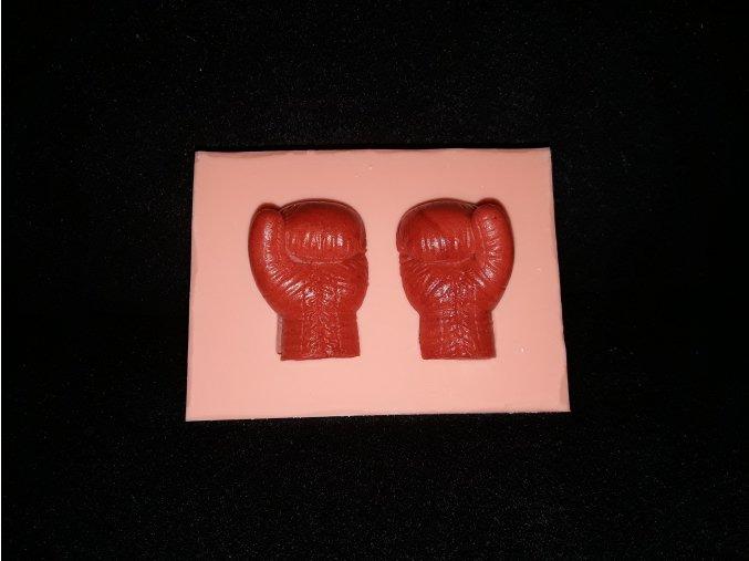 Silikonová formička boxerské rukavice 3242