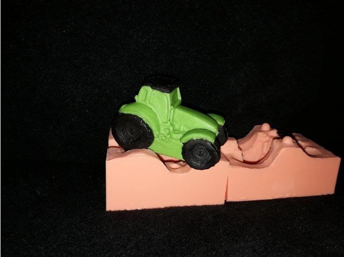 Silikonová formička traktor 3243