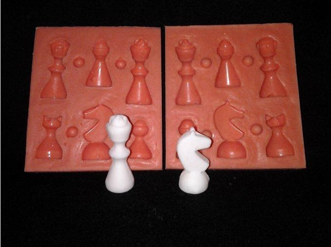 Silikonová formička šachy malé 3060