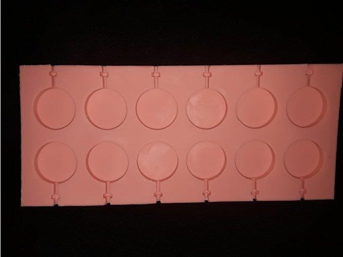 Silikonová formička lízátka 5204