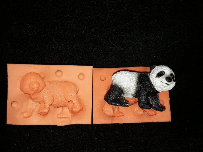 Silikonová formička panda 3064