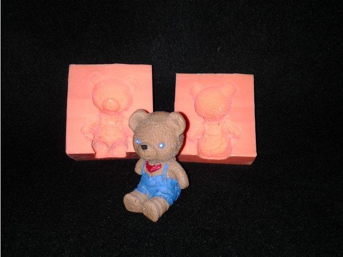 Silikonová formička Medvídek kluk 3067