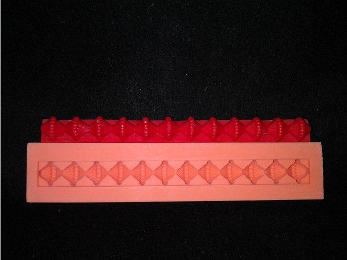 Silikonová formička ozdobná bordura 1026