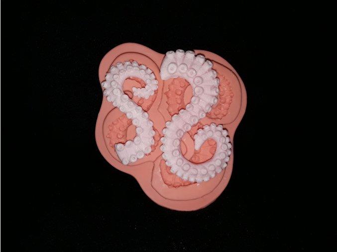 Silikonová formička chapadla chobotnice 5208