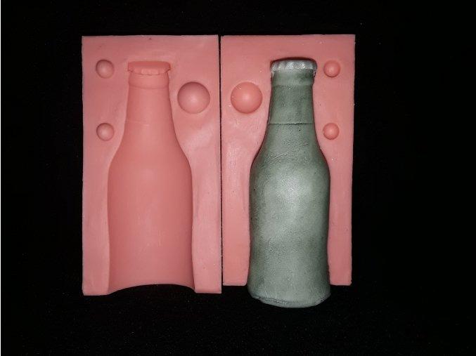 Silikonová formička lahvička piva 3273