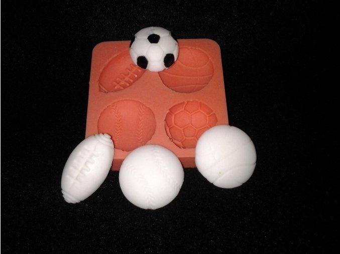 Silikonová formička malé míče 5052