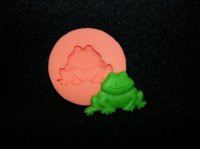 Silikonová formička malá žabička 2070