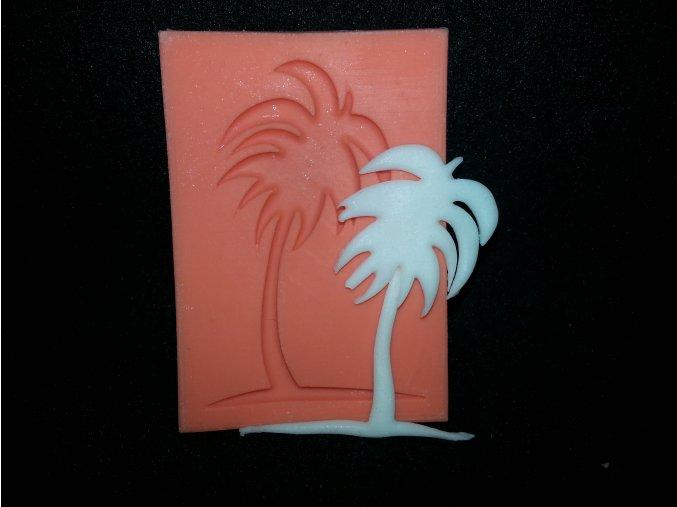 Silikonová formička malá palma 4025