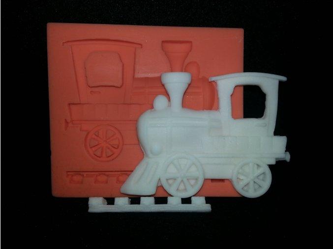 Silikonová formička lokomotiva 5066