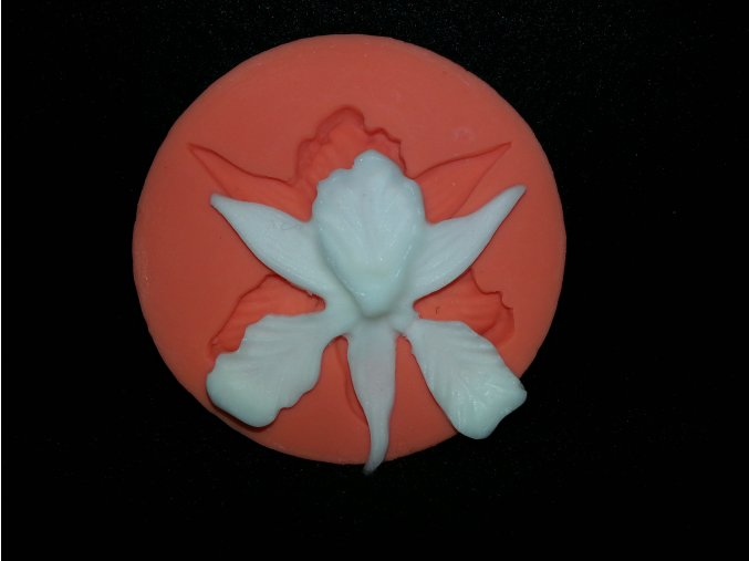 Silikonová formička orchidea 4026