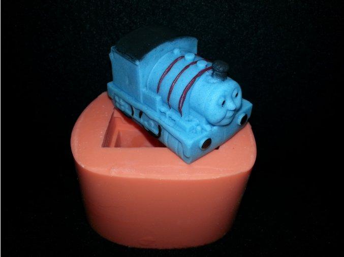 Silikonová formička mašinka Tomáš 3081