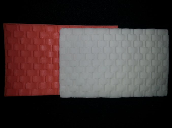 Silikonová formička vzor košík 5070