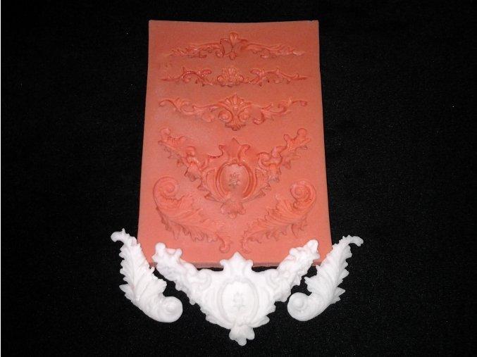 Silikonová formička ornamenty 1018