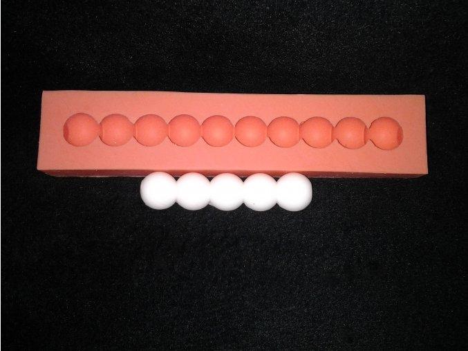 Silikonová formička velké perly 1025