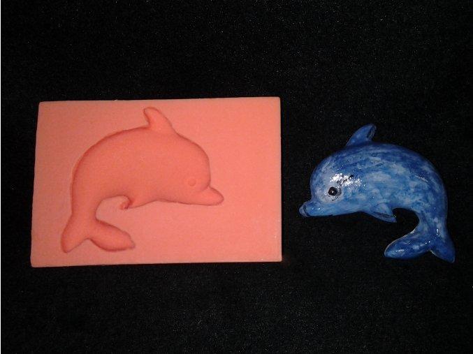 Silikonová formička delfín 2003