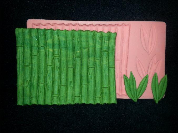 Silikonová formička bambus 5085