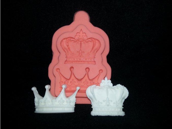 Silikonová formička královské koruny 5087