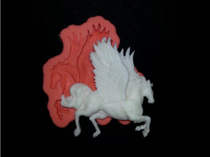 Silikonová formička kůň okřídlený 2095