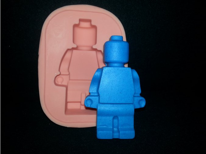 Silikonová formička lego panáček velký  2100