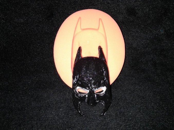 Silikonová formička maska Batman 2016