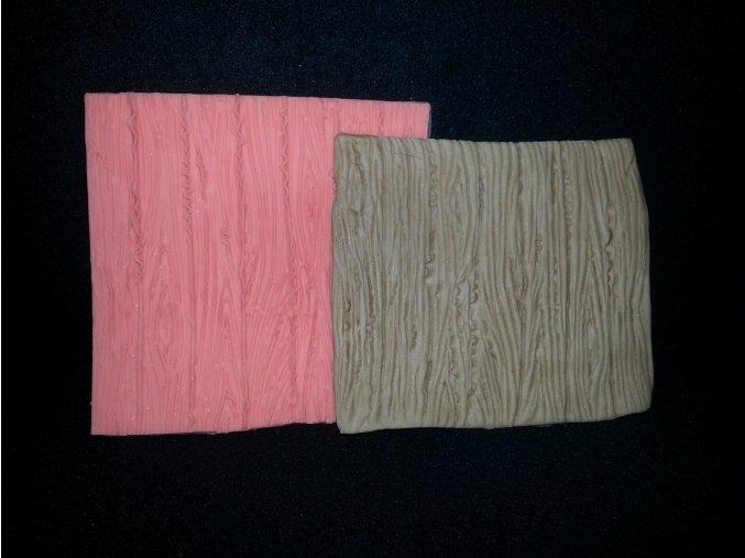 Silikonová formička vzor dřevo 5101