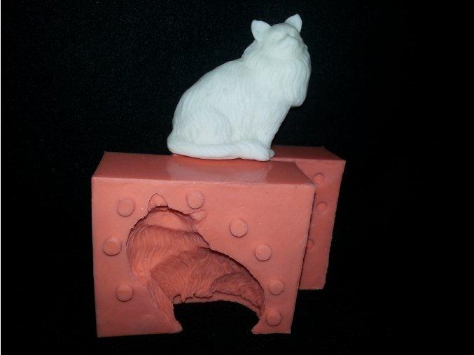 Silikonová formička kočka 3118