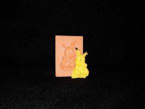 Silikonová formička králíček 2140
