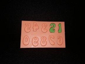 Silikonová formička číslice 6011