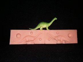 Silikonová formička dinosaurus 1. 3245